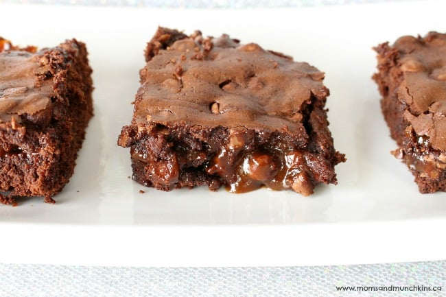 Chocolate Caramel Brownies Recipe
