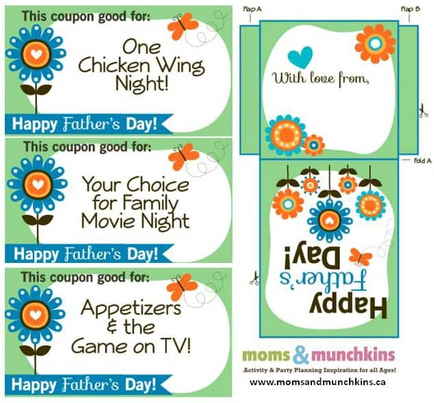 Free Father's Day Coupons