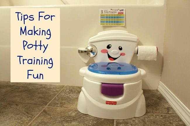 Potty Training Is Fun!