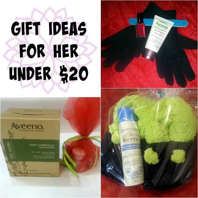 Aveeno Gift Ideas For Her Under $20 - Moms & Munchkins