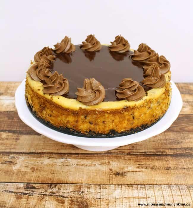 Chocolate Macaroon Cheesecake