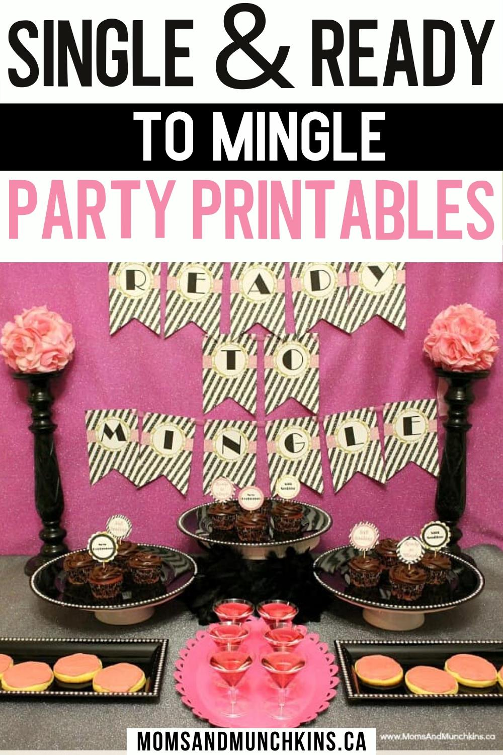 Breakup party Printables