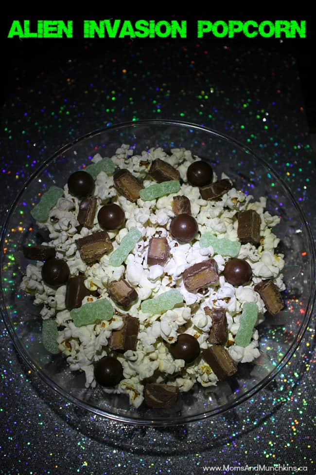 Alien Invasion Popcorn