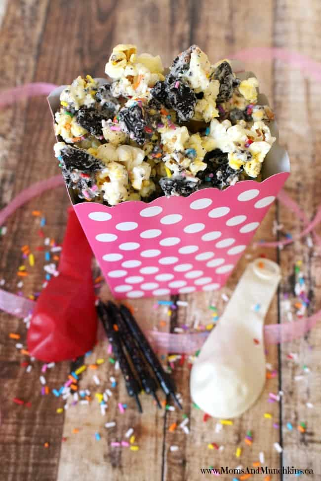 Birthday Party Popcorn
