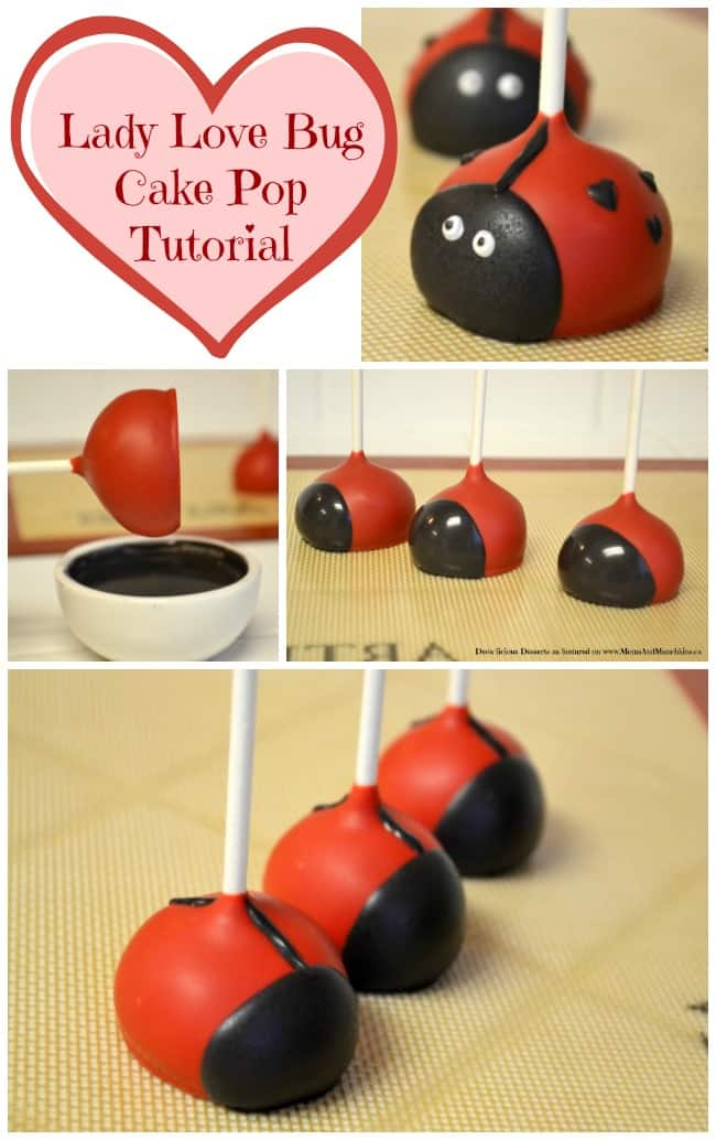 Love Bug Cake Pops