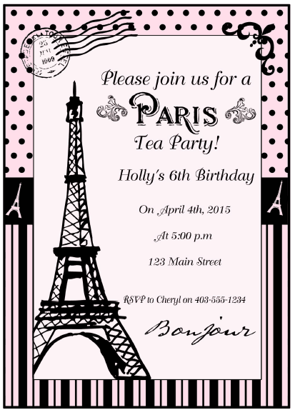 Paris Tea Party