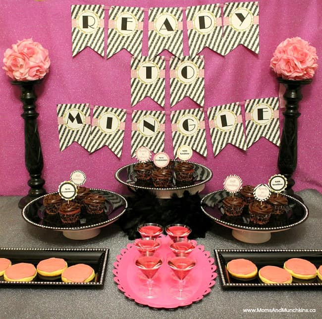 Breakup party ideas printables moms munchkins for Home alone theme decorations