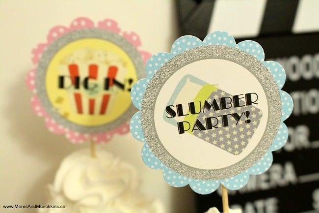 Slumber Party Printables