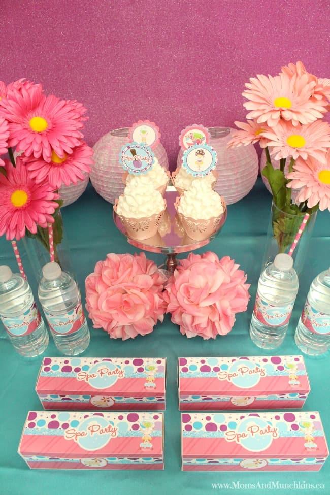 Kids Spa Party Ideas Little Girls