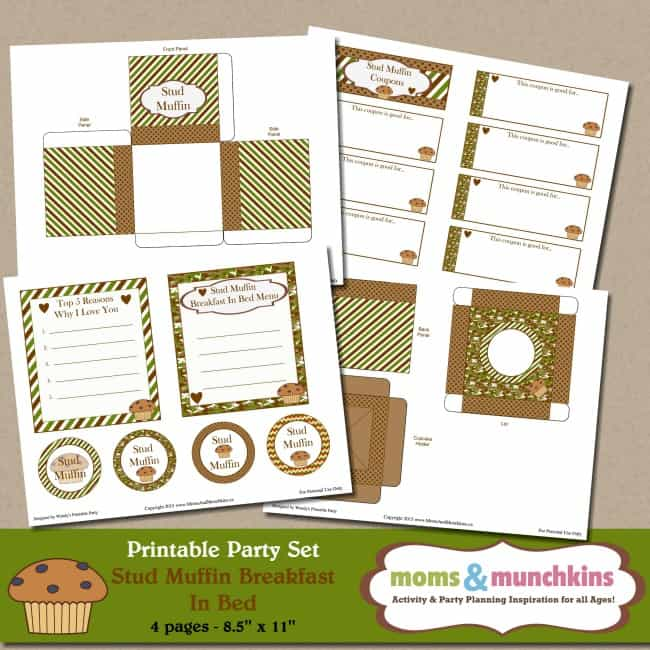 Stud Muffin Printables