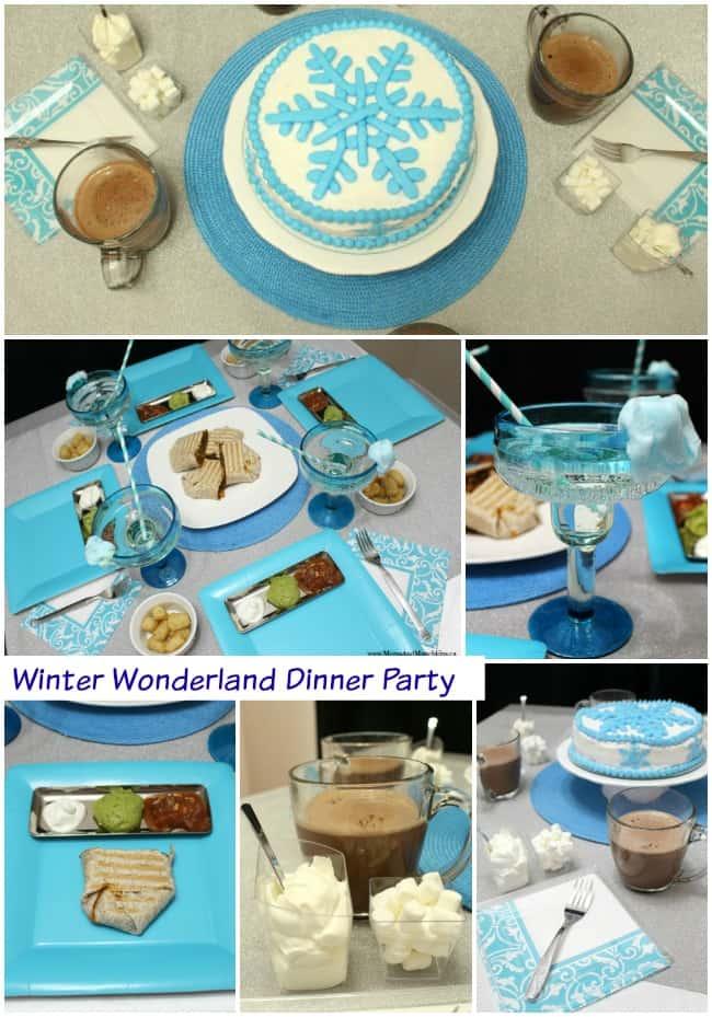 Winter Wonderland Party Moms Munchkins