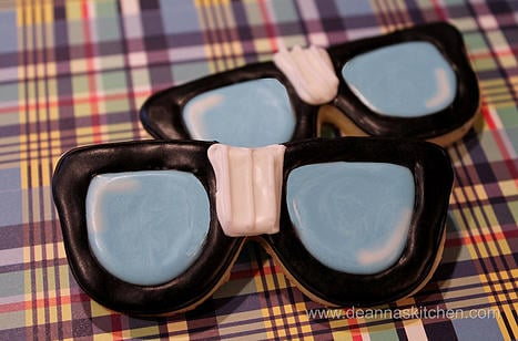 Nerd Glasses Cookies