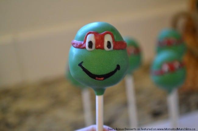 How To Make Ninja Turtle Cake Pops