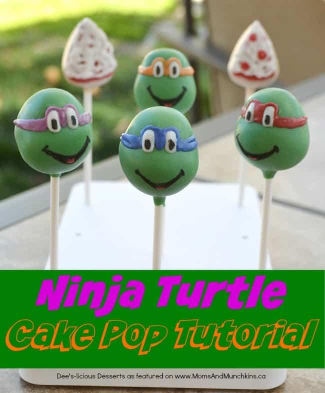 Tmnt Cake Pops Tutorial