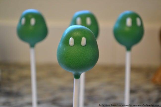 Ninja Turtle Cake Pops Tutorial Moms Amp Munchkins