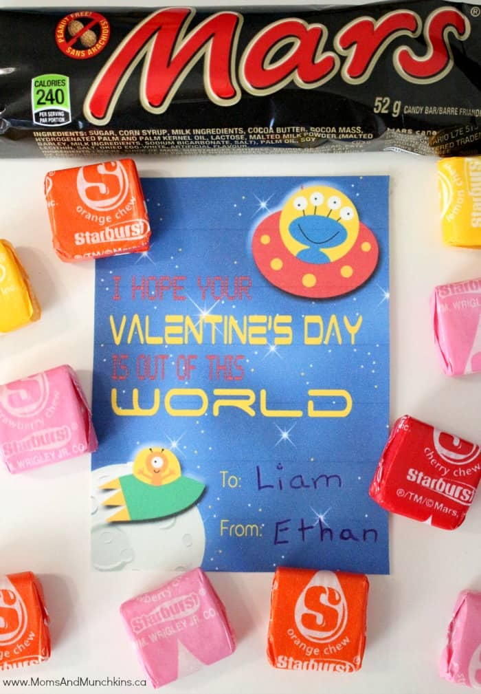 Free Alien Valentines