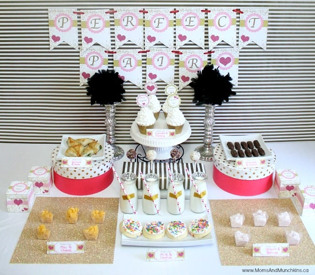 Wedding Party Ideas: Perfect Pair Bridal Shower