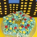 Superhero Popcorn Cake