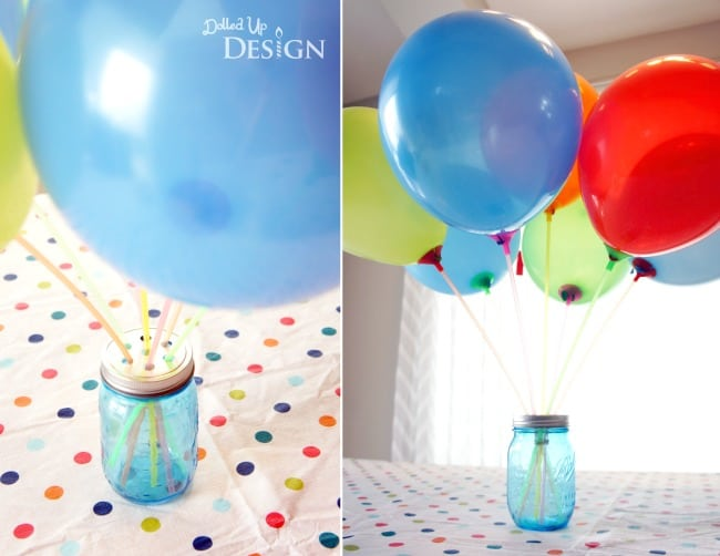Balloon Burst Bouquet