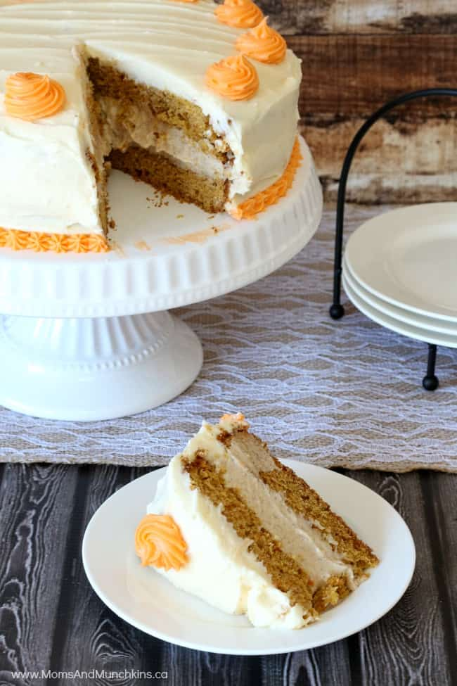Carrot Cake with Cinnamon Cream Cheese Filling – yes, just as ...