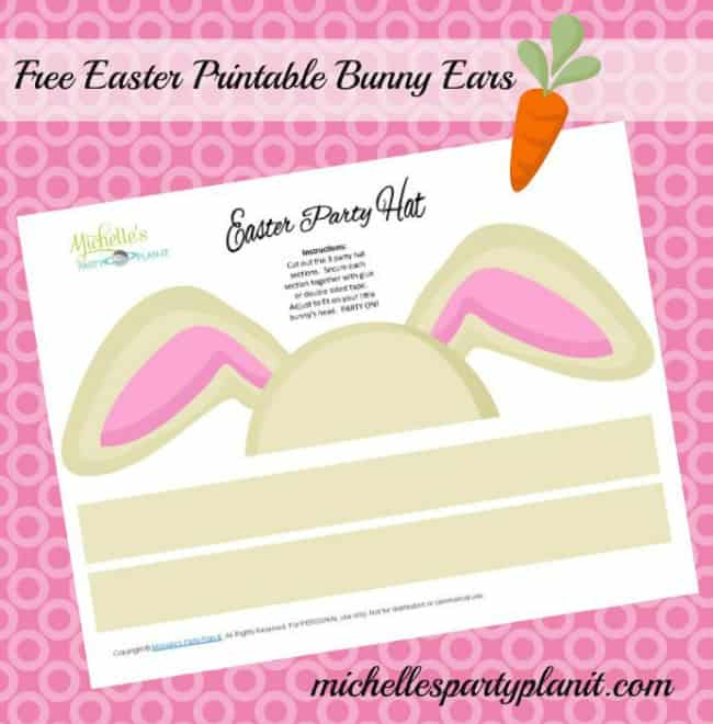 Free Easter Bunny Ears