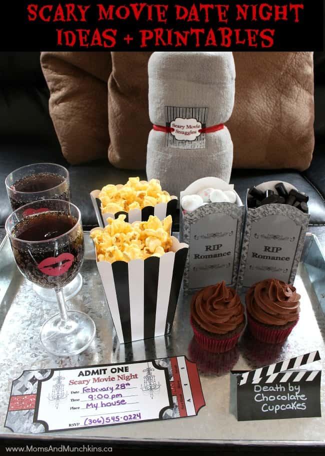 Scary Movie Date Night Ideas - Moms & Munchkins
