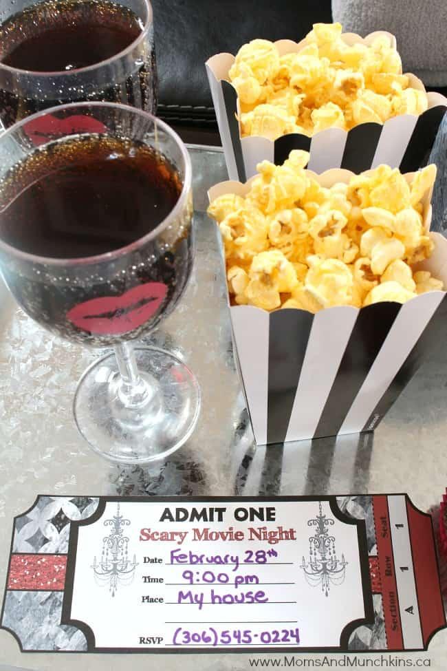 Scary Movie Date Night Ideas Surprise Romantic Night At Home