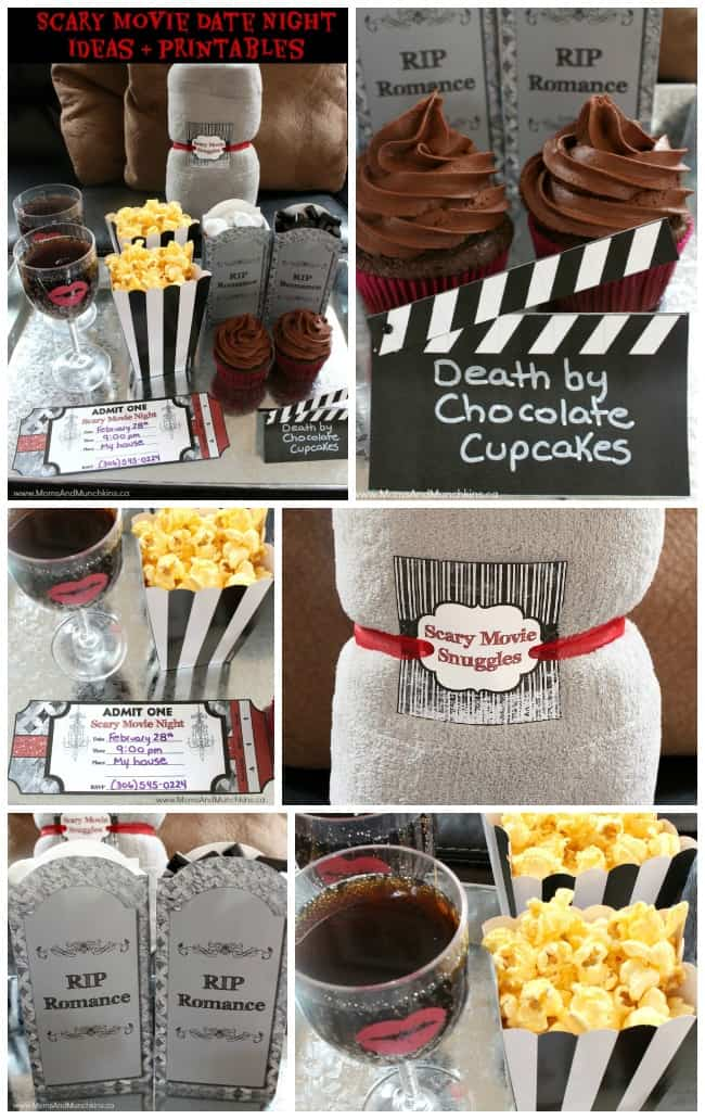 Awesome Movie Night Gift Basket Ideas Photograph Of Basket Idea