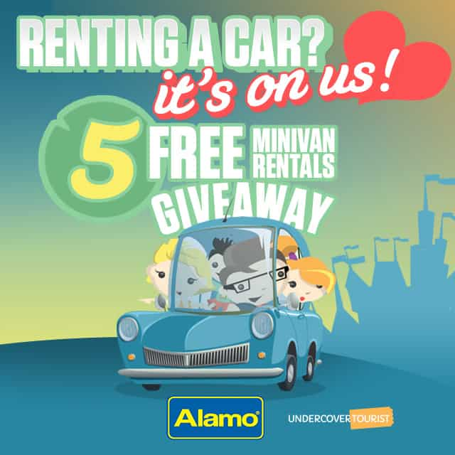 Win a Minivan Rental from Undercover Tourist