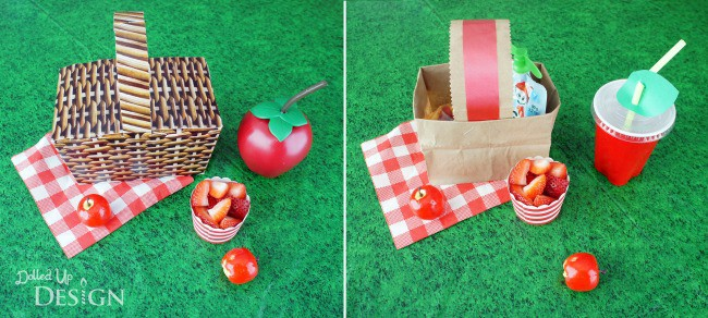 Paper Bag Picnic Baskets