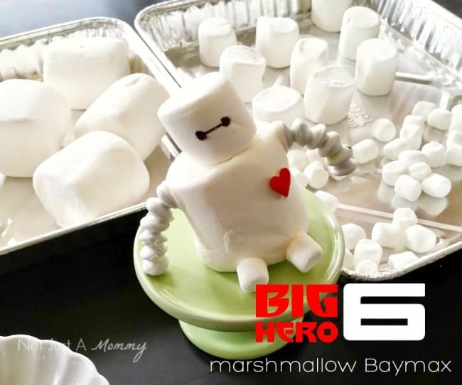 Big Hero 6 Marshmallow Baymax