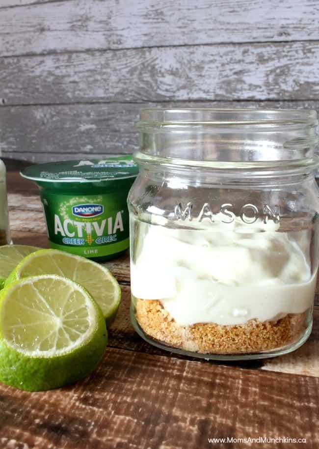 Yogurt Key Lime Pie Activia Challenge Results