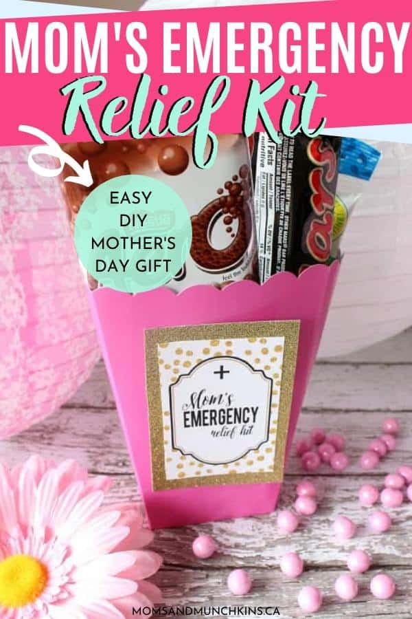 Moms Emergency Relief Kit Free Printable