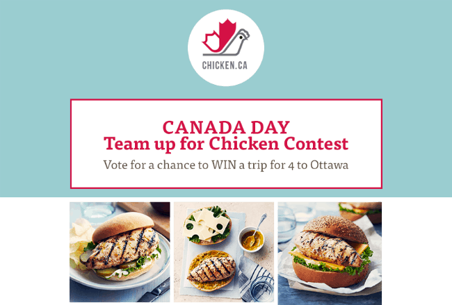 Team Up For Canadian Chicken