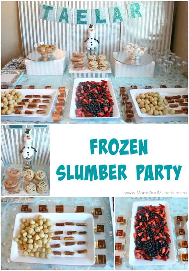 Frozen Slumber Party Planning Tips