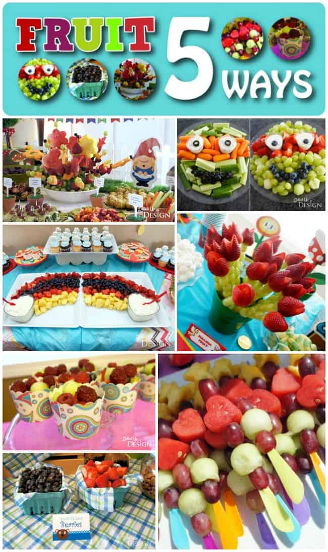 Fruit Party Food