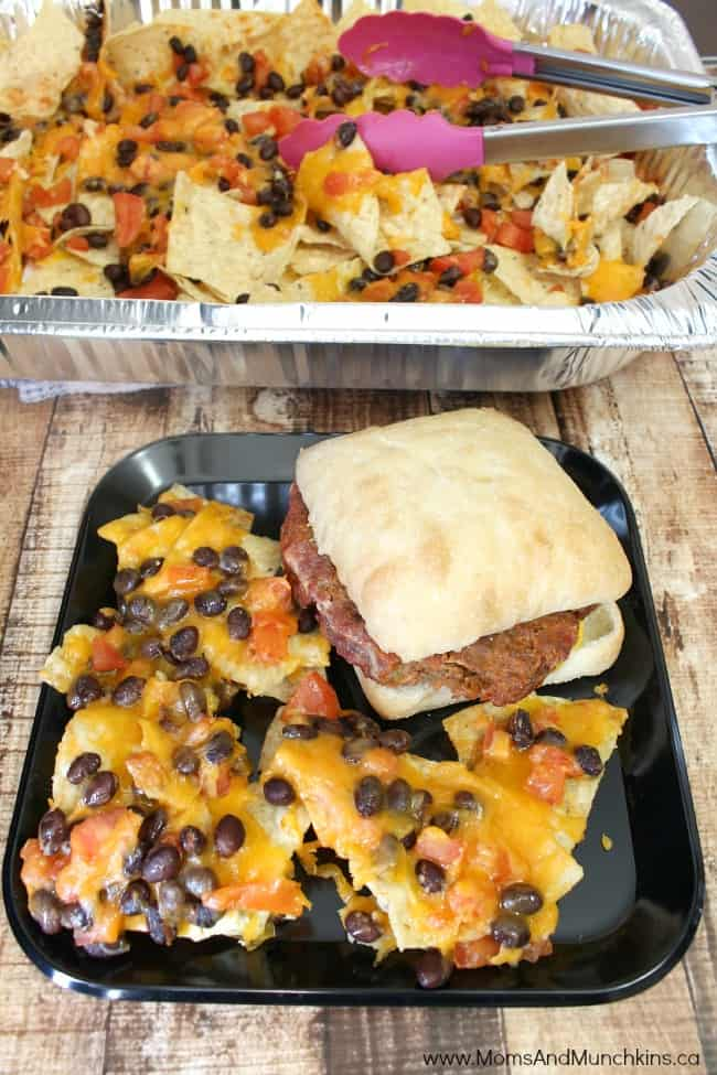 Grilled Picnic Nachos