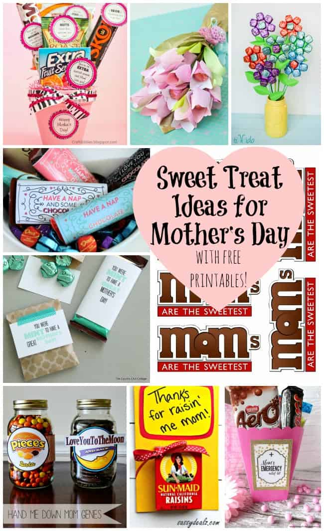 Sweet Treat Ideas for Mother's Day