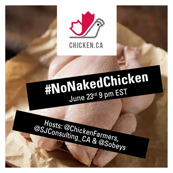 NoNakedChicken Twitter Party