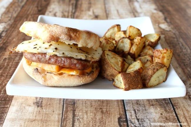 BBQ Breakfast Sandwiches