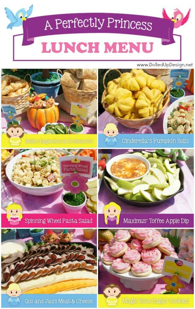 Princess party food ideas moms munchkins princess party food forumfinder Image collections
