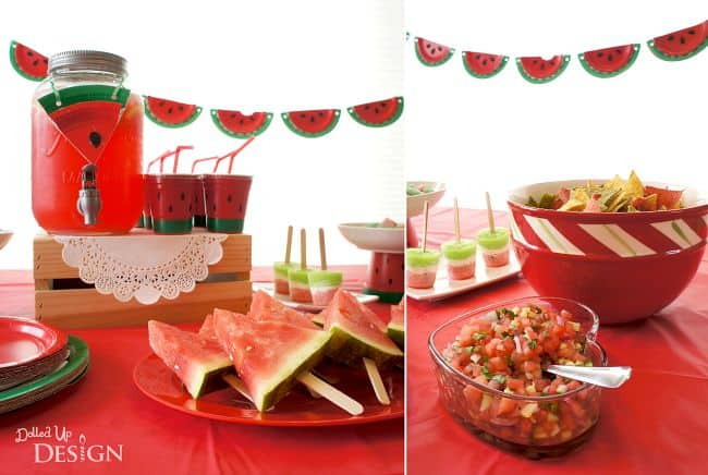 Watermelon Party Ideas Moms Amp Munchkins