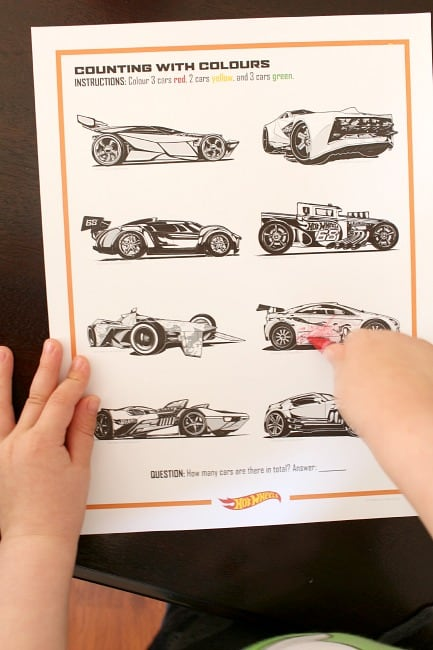 Hot Wheels FUNdamentals - Learning Activities
