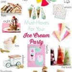 Ice Cream Party Essentials