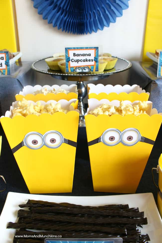 Minions Birthday Party Ideas Moms Amp Munchkins