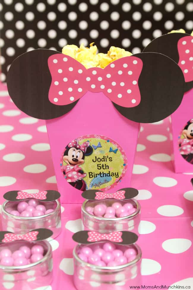 Minnie Party Ideas Moms Amp Munchkins