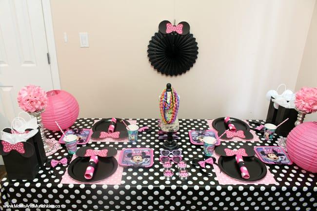 Minnie Party Ideas Moms Amp Munchkins