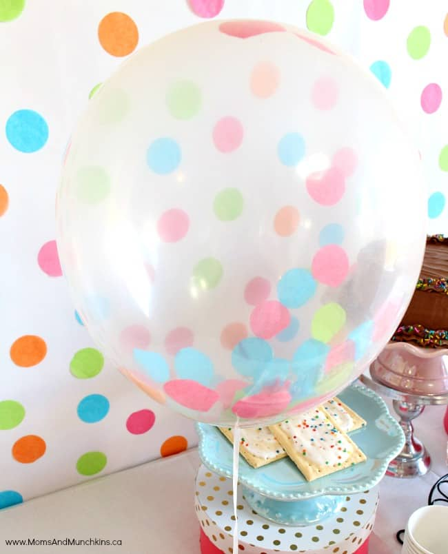 Balloons and Sprinkles Party