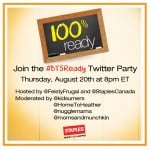 Join Us For The Staples #BTSReady Twitter Party!