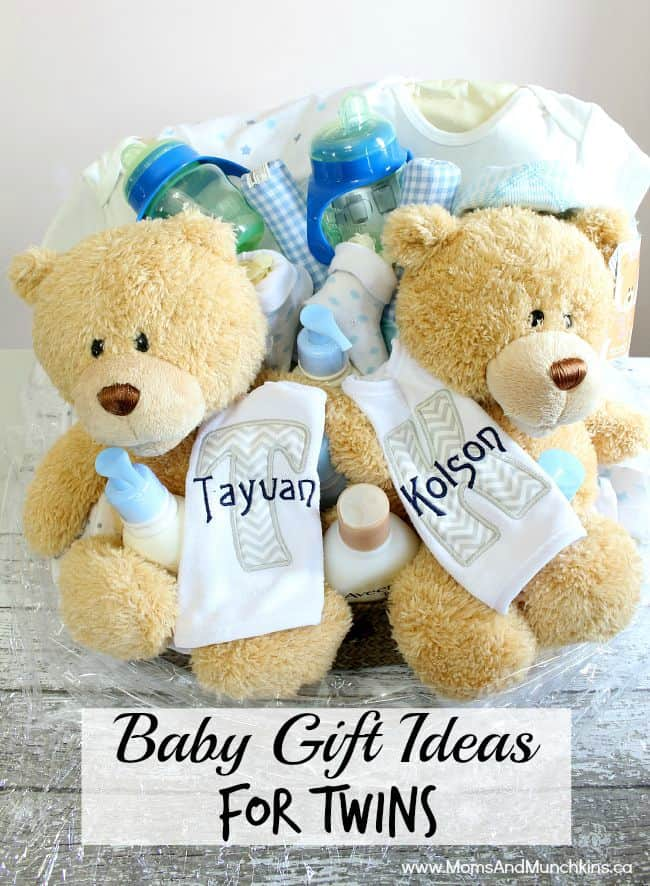 Baby Gift Ideas Twins : Baby gift ideas for twins moms munchkins
